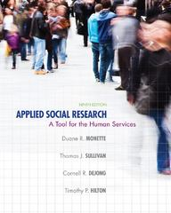 Applied Social Research 9th Edition 9781285605722 1285605721