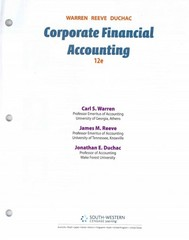 Corporate Financial Accounting 12th edition 9781285078588 1285078586