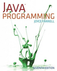 Java Programming 7th Edition 9781285081953 1285081951