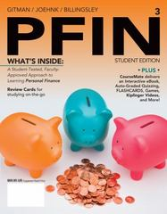 PFIN3 (with CourseMate Printed Access Card) 3rd Edition 9781285082578 1285082575