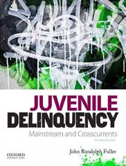 Juvenile Delinquency 2nd Edition 9780199859740 0199859744