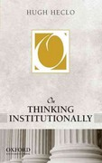 On Thinking Institutionally 1st Edition 9780199946006 0199946000