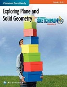 Exploring Plane and Solid Geometry in Grades 6-8 with the Geometer's Sketchpad V5 1st Edition 9781604402278 160440227X