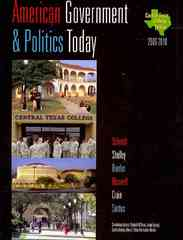 Central Texas College American Government 1st edition 9780495500339 049550033X