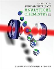 Fundamentals of Analytical Chemistry 9th edition 9780495558286 0495558281