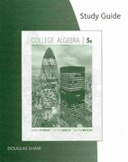 Study Guide for Stewart/Redlin/Watson's College Algebra 5th edition 9780495565239 0495565237