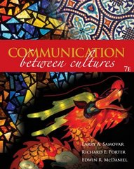 Communication Between Cultures 7th Edition 9781111781453 1111781451