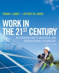 Work in the 21st Century 4th edition 9781118291207 1118291204