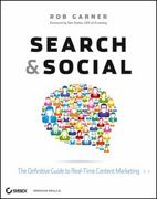 Search and Social 1st Edition 9781118264386 111826438X