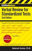 CliffsNotes Verbal Review for Standardized Tests 2nd Edition 9781118334256 1118334256