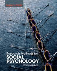 Research Methods for Social Psychology 2nd Edition 9781118406052 1118406052