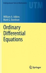 Ordinary Differential Equations 1st Edition 9781461436171 1461436176