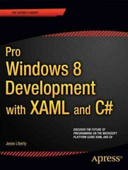 Pro Windows 8. 1 Development with XAML and C# 1st Edition 9781430240471 1430240474