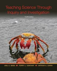 Teaching Science As Inquiry 12th Edition 9780132612241 0132612240
