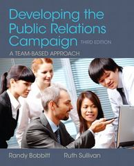 Developing the Public Relations Campaign 3rd Edition 9780205066728 0205066720