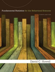 Fundamental Statistics for the Behavioral Sciences 8th Edition 9781285531830 1285531833
