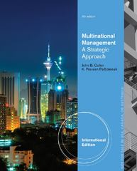 Multinational Management 6th edition 9781285094946 1285094948