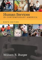 Human Services in Contemporary America 9th Edition 9781285083667 1285083660