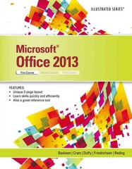 Microsoft Office 2013 1st Edition 9781285088457 128508845X