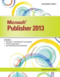 Microsoft Publisher 2013 1st Edition 9781305142930 1305142934