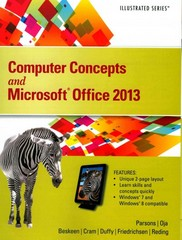 Computer Concepts and Microsoft Office 2013 1st Edition 9781285092904 1285092902