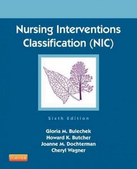 Nursing Interventions Classification (NIC) 6th Edition 9780323100113 0323100112