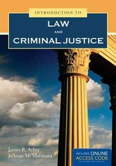 Introduction to Law and Criminal Justice 1st Edition 9781449690328 1449690327