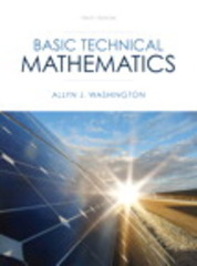 Basic Technical Mathematics 10th edition 9780133083507 0133083500