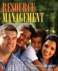 Resource Management for Individuals and Families 5th Edition 9780132955140 0132955148