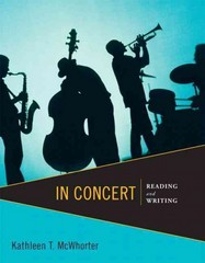 In Concert 1st Edition 9780321838629 0321838629