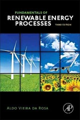 Fundamentals of Renewable Energy Processes 3rd Edition 9780123972194 0123972191
