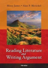 Reading Literature and Writing Argument 5th edition 9780321871862 0321871863