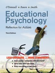 Educational Psychology: Reflection for Action Third Edition Binder Ready Version 3rd Edition 9781118129159 1118129156