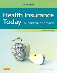 Health Insurance Today 4th Edition 9781455708192 1455708194