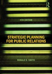 Strategic Planning for Public Relations 4th Edition 9780415506762 041550676X