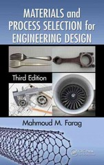 Materials and Process Selection for Engineering Design, Third Edition 3rd Edition 9781466564107 1466564105