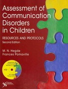 Assessment of Communication Disorders in Children 2nd Edition 9781597564878 1597564877