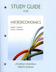 Study Guide for Microeconomics 8th Edition 9780132870498 0132870495
