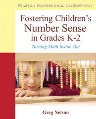 Fostering Children's Number Sense in Grades K-2 1st Edition 9780132981514 0132981513