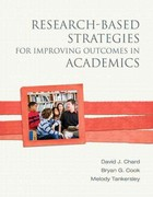 Research-Based Strategies for Improving Outcomes in Academics 1st Edition 9780133121568 0133121569