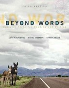 Beyond Words with NEW MyCompLab -- Access Card Package 3rd edition 9780321846105 0321846109