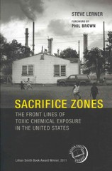 Sacrifice Zones 1st Edition 9780262518178 0262518171