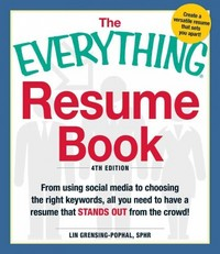 Resume Book 4th Edition 9781440550560 1440550565