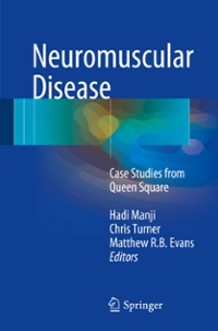 Neuromuscular Disease 1st Edition 9781447123897 1447123891
