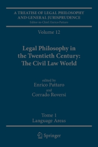 A Treatise of Legal Philosophy and General Jurisprudence 1st Edition 9789400714793 9400714793