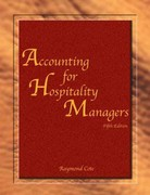 Accounting for Hospitality Managers with Answer Sheet (AHLEI) 5th Edition 9780133110050 0133110052