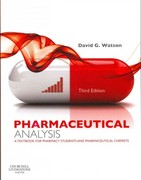 Pharmaceutical Analysis 3rd Edition 9780702046216 0702046213