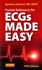 Pocket Reference for ECGs Made Easy 5th Edition 9780323101080 0323101089