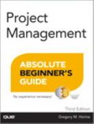 Project Management Absolute Beginner's Guide 3rd Edition 9780789750105 0789750104