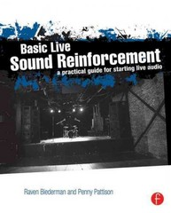 Basic Live Sound Reinforcement 1st Edition 9780240821016 0240821017